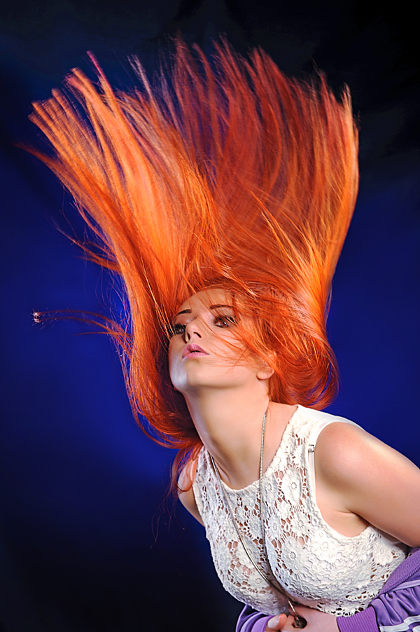 Hair photography Lancashire