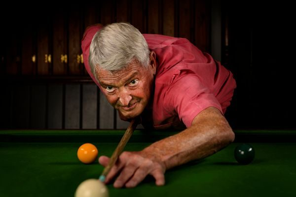 Snooker Player Portrait