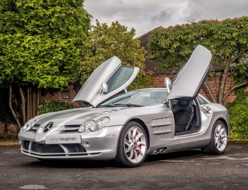 Car Photography – Mercedes SLR McLaren