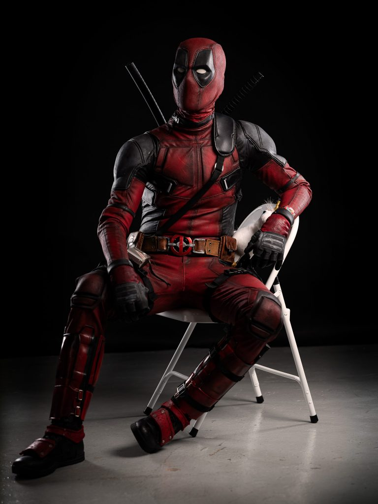 deadpool cosplay photography