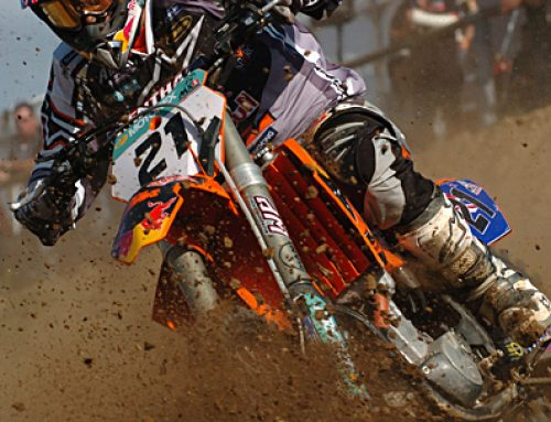 KTM Riding Rough